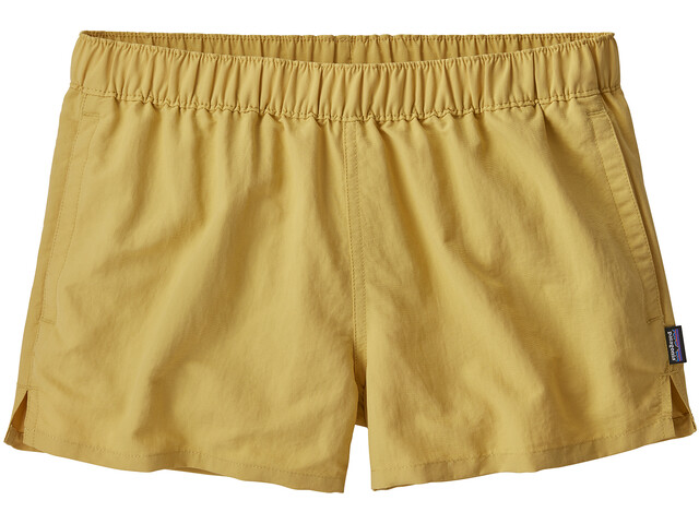 Patagonia Barely Short ample Femme, surfboard yellow